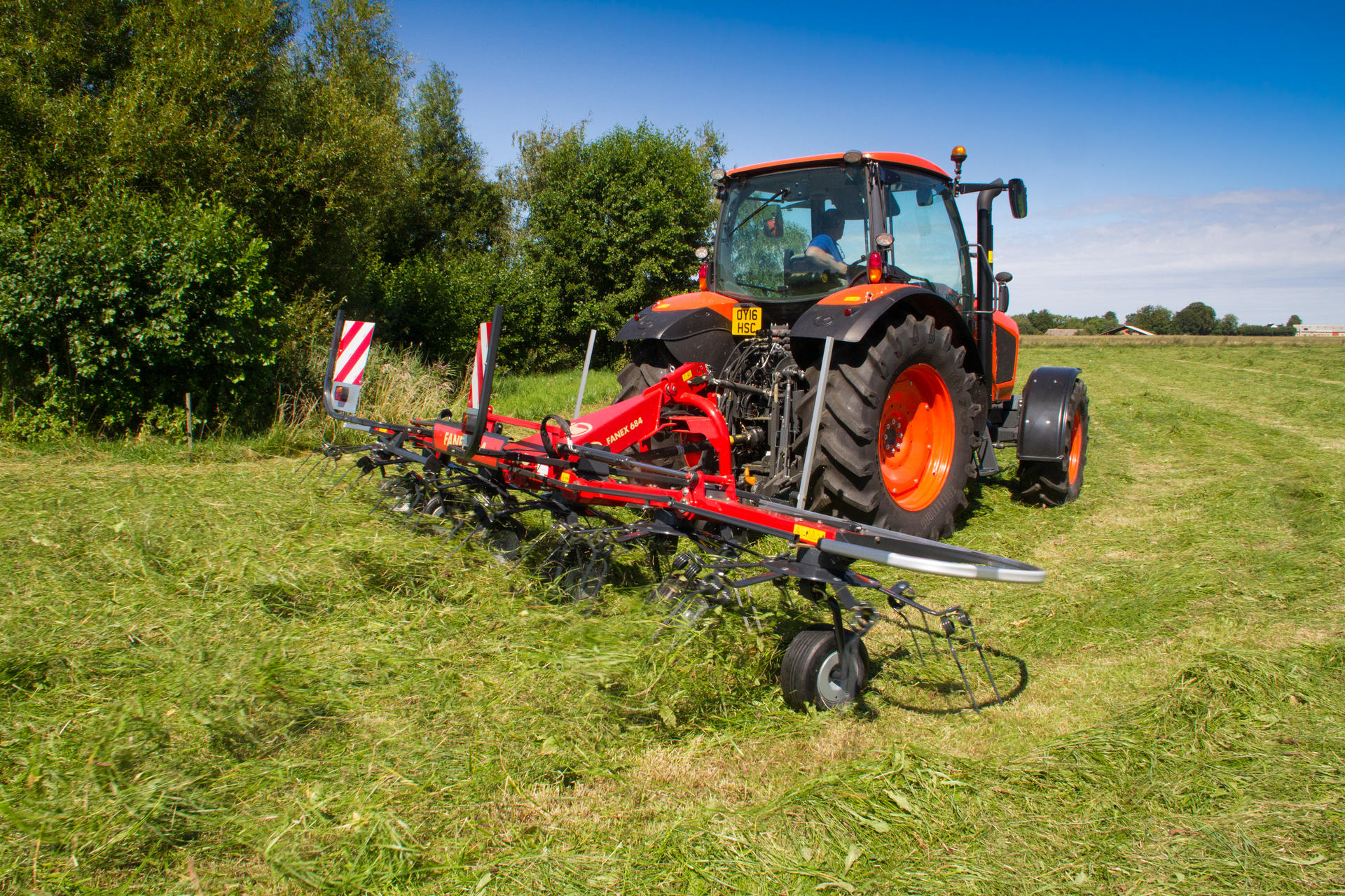 Vicon Fanex 764 Pro-Line Mounted Rotary Tedder