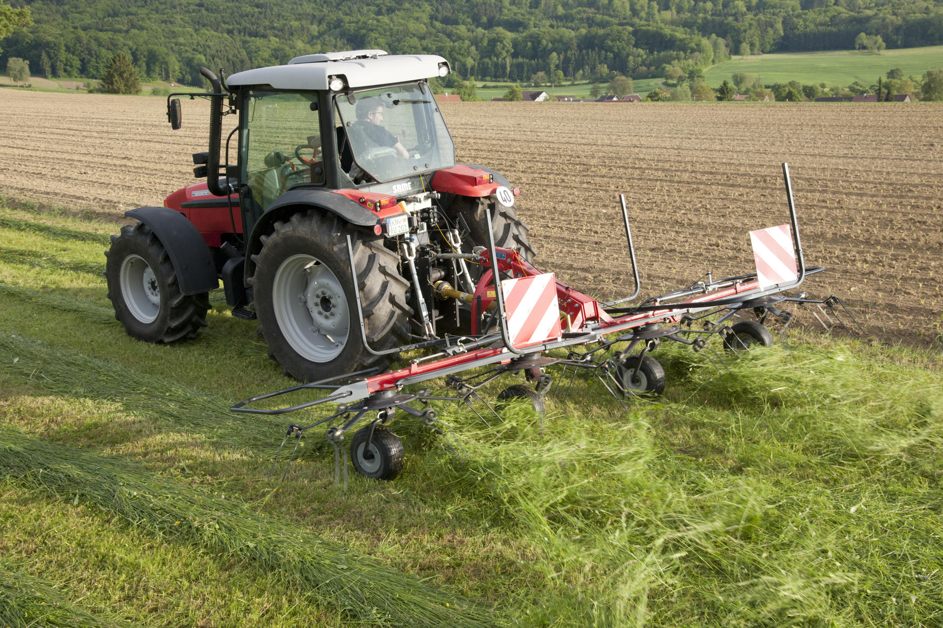 Vicon Fanex 524 Compact Line Rotary Tedder