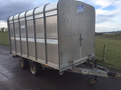 Ifor Williams DP120 12ft Dykes