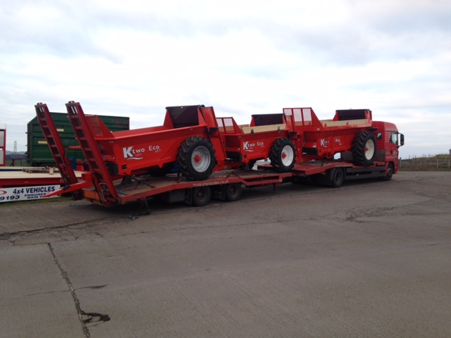 k-two spreaders at TH Jenkinson