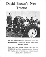 David Brown's New Tractor