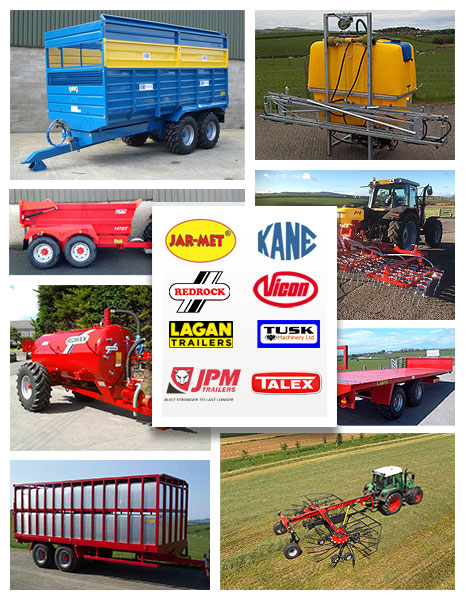New and used agricultural machinery at T.H. Jenkinson