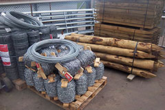 Fencing Material - fence posts, stobs, wire