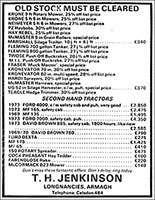T.H. Jenkinson Advert