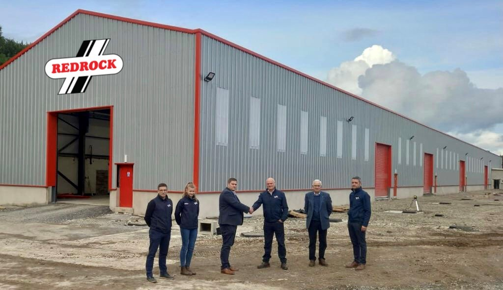 The TH Jenkinson team at Redrock's new manufacturing facility